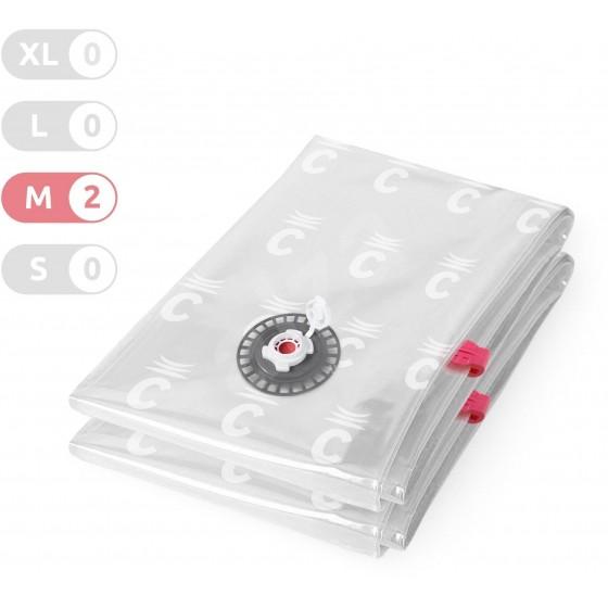 Vaakumkott M, riiete säilitamiseks, 2tk/pk, 55x90cm