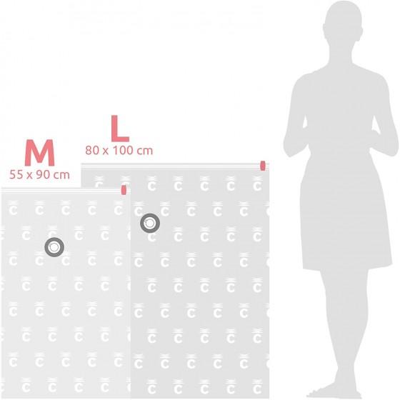 Vaakumkott riiete säilitamiseks M+L, 2tk/pk, 55x90 / 80x100cm