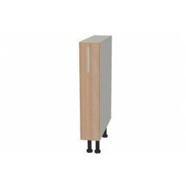 Põrandakapp avatud riiulitega