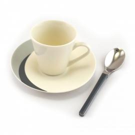 NATURA espresso kohvitassi komplekt Stone / Kivi