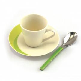 NATURA espresso kohvitassi komplekt Roheline / Green