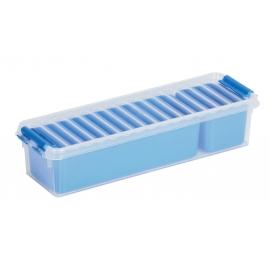 Jaotuskarp 0,9L läbipaistev/sinine