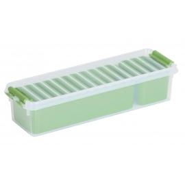 Jaotuskarp 0,9L läbipaistev/roheline