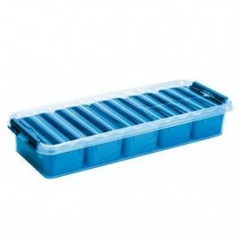 Jaotuskarp 2,5L läbipaistev/sinine