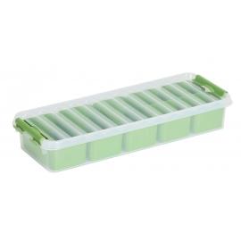 Jaotuskarp 2,5L läbipaistev/roheline