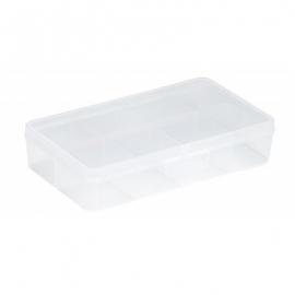 Jaotuskarp 2,5L läbipaistev/punane