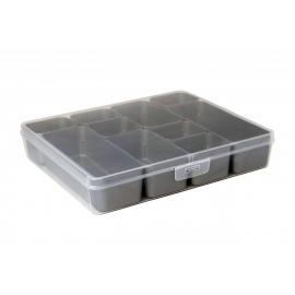 Jaotuskarp 10 jaotuskarbiga  läbipaistev/hall