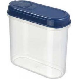 Toiduainete konteiner 0,7L läbipaistev/sinine