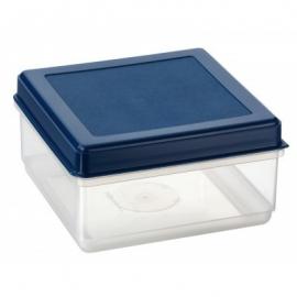Kandiline toiduainete konteiner 2,1L läbipaistev/sinine