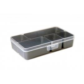 Jaotuskarp 5 jaotuskarbiga  läbipaistev/hall