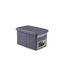 """Коробка с передним открытием""""Elegance"""" S темно-синяя"""