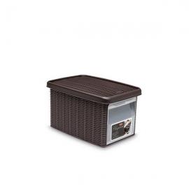 """Коробка с передним открытием""""Elegance"""" S темно-коричневая"""