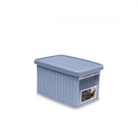 """Коробка с передним открытием""""Elegance"""" S светло-синяя"""