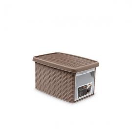 """Коробка с передним открытием""""Elegance"""" S светло-коричневая"""